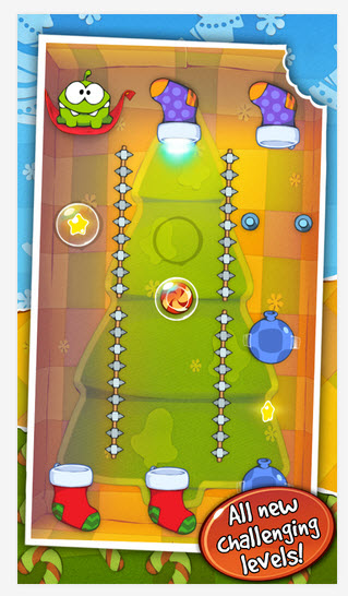 Cut the Rope: Holiday Gift | Apkplaygame.com