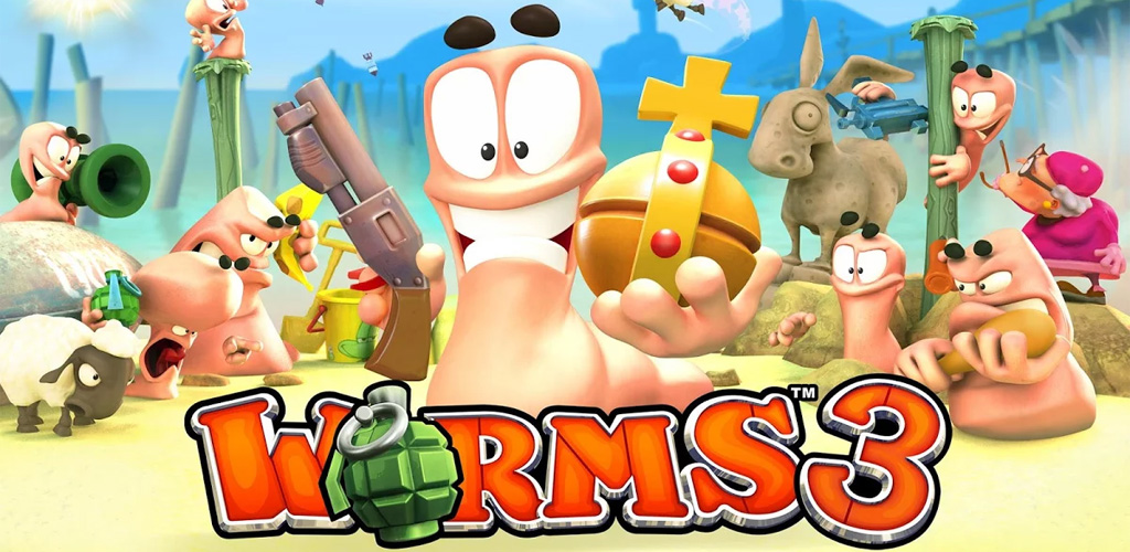Download Worms 3 full apk! Direct & fast download link
