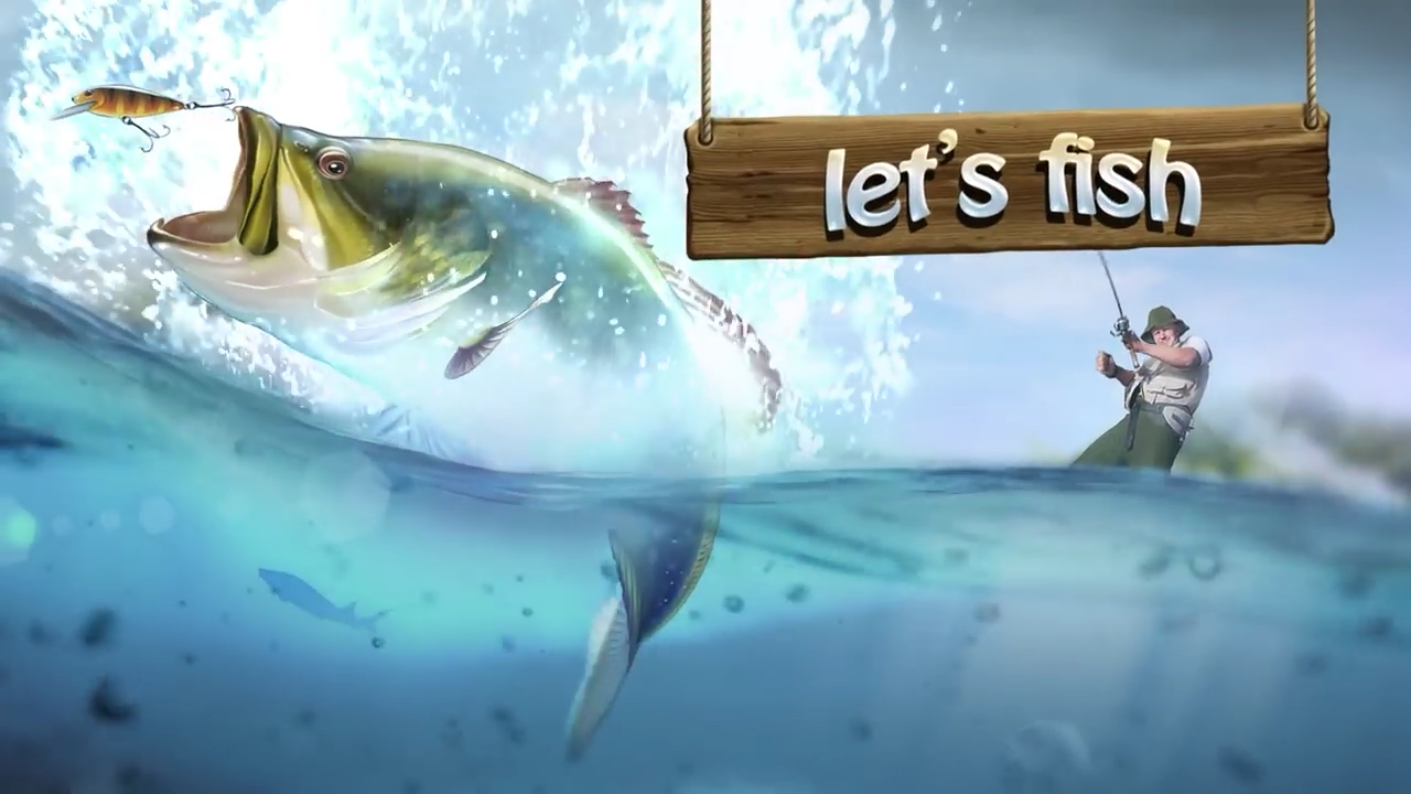 Let s fish game for Lets go fishing game