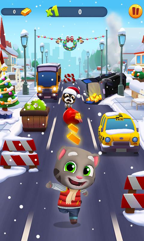 Talking Tom Gold Run | Apkplaygame.com