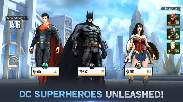 DC UNCHAINED | Apkplaygame.com