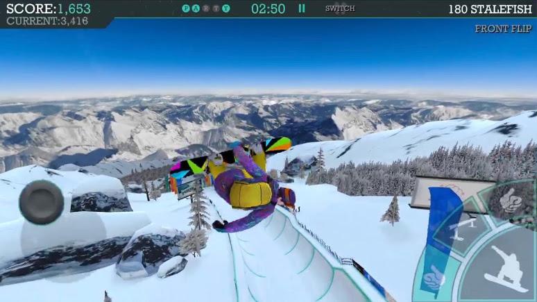 Snowboard Party: Aspen | Apkplaygame.com