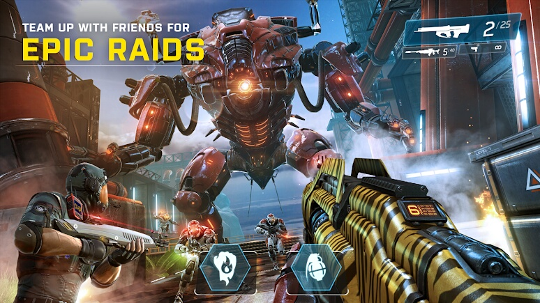 Shadowgun Legends | Apkplaygame.com