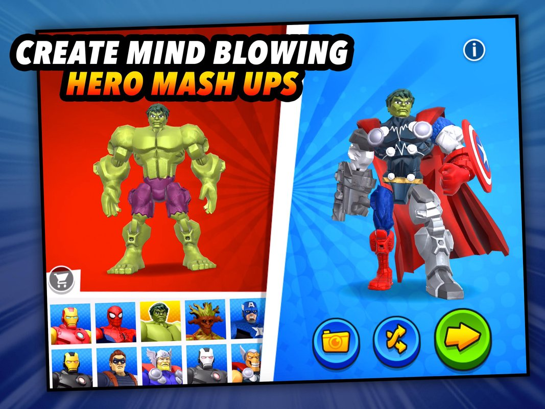 Mix+Smash: Marvel Mashers | Apkplaygame.com