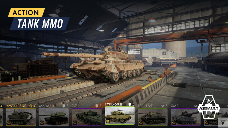 Armored Warfare: Assault | Apkplaygame.com