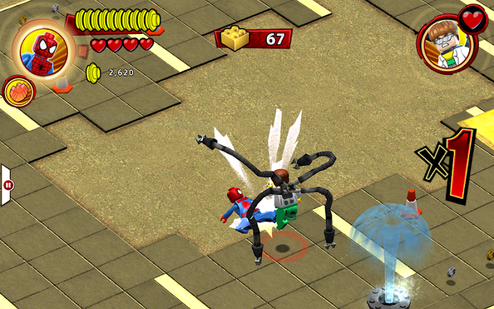 LEGO ® Marvel Super Heroes | Apkplaygame.com
