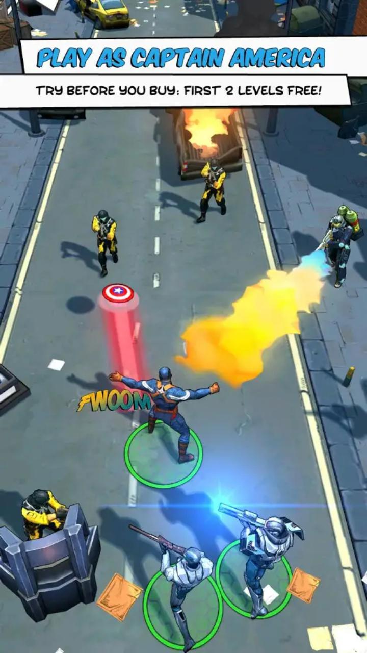 Captain America: TWS | Apkplaygame.com