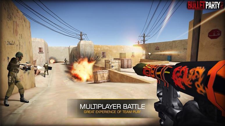 Bullet Party CS 2 : GO STRIKE   Apkplaygame.com