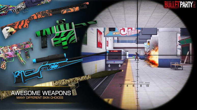 Bullet Party CS 2 : GO STRIKE | Apkplaygame.com