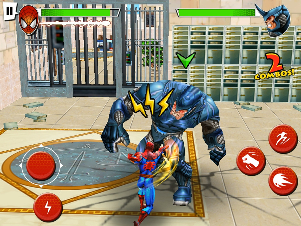 Ultimate Spider-Man: Total Mayhem | Apkplaygame.com