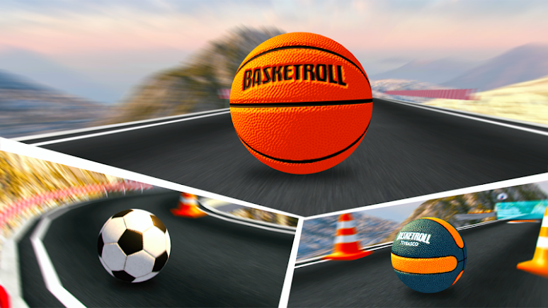 BasketRoll 3D: Rolling Ball | Apkplaygame.com
