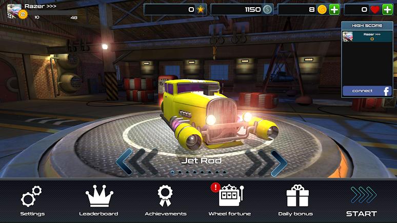 Rocket Carz Racing - Never Stop | Apkplaygame.com