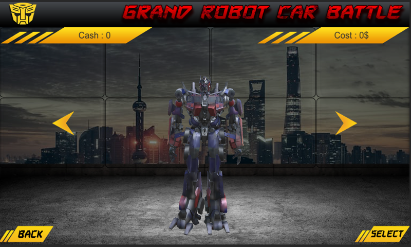 Grand Robot Car Battle | Apkplaygame.com