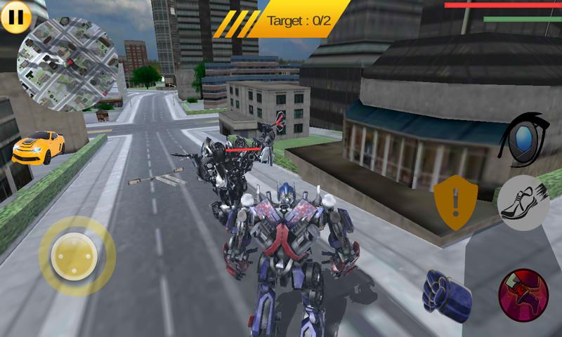 Grand Robot Car Battle | Apkplaygame.com