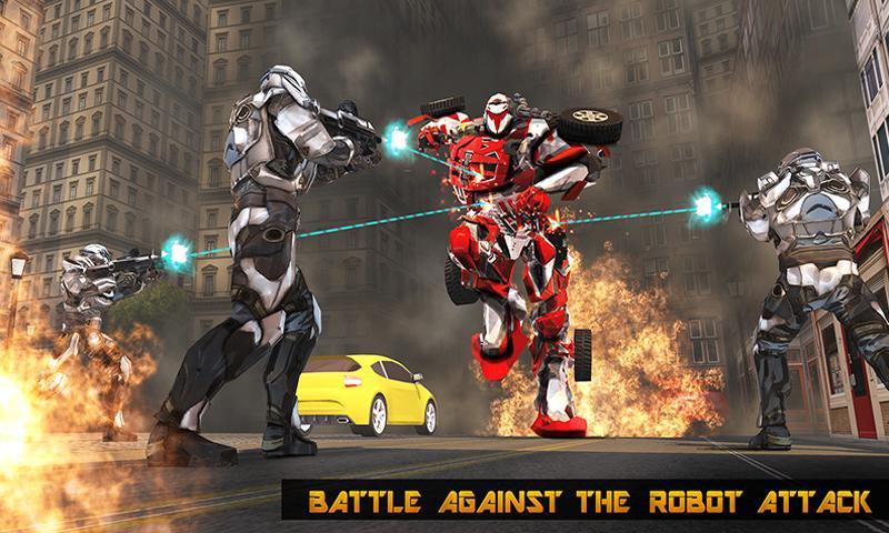 Robot Hero City War Survival   Apkplaygame.com