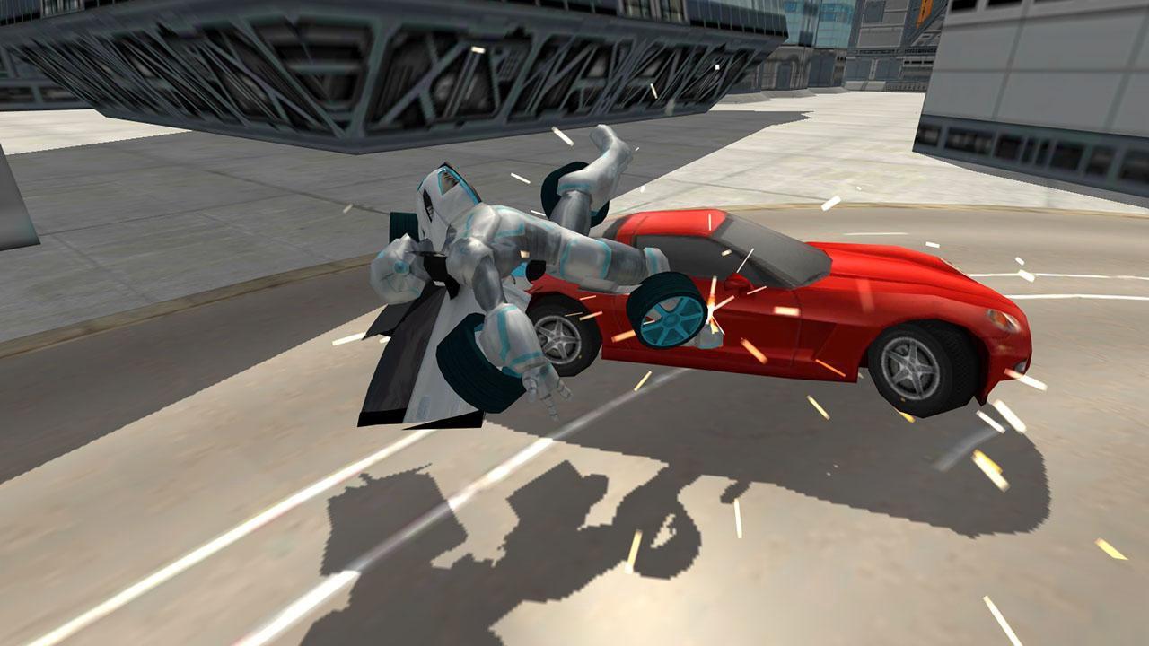 Flying Car Robot Flight Drive Simulator Game 2017   Apkplaygame.com