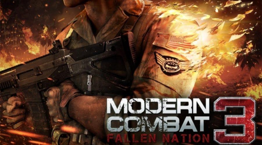 modern combat 3 fallen nation apk mod