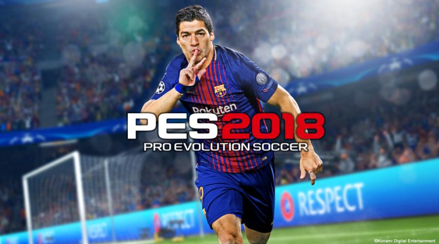 Download PES 2018 PRO EVOLUTION SOCCER full apk