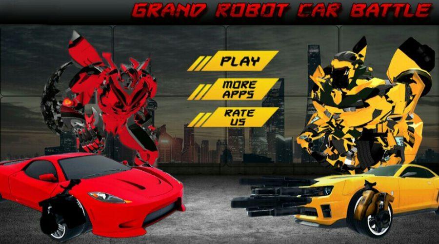 Grand robot car battle youtube.